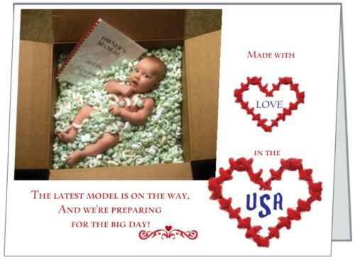 20 Latest MODEL Made in USA Baby Shower INVITATIONS /& ENV /& Seals