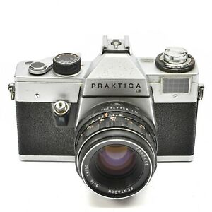 PRAKTICA-LB-CAMERA-WITH-M42-PENTACON-AUTO-50mm-f-1-8-LENS-c-1972-77