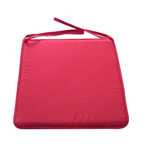 UK Removable Chair Cushion Seat Pads with Tie On Home Garden Patio Cover