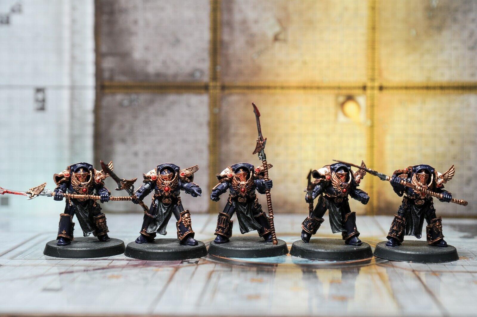 Los niños del emperador Phoenix Terminadores Pintado Pack Warhammer 40k Horus Heresy