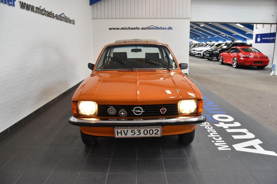 Opel Kadett 1,2 Benzin modelår 1979 km 54000 Orange