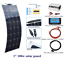 100w Flexible Solar Panel system Mono Module For Boat Yacht Car Home Charging RV