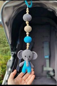 Mobile Crochet Fanto the Elephant Blossom Pink – Sebra   300x201