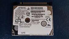 "HITACHI (HTC424020F7AT00) 20 GB HDD 1.8"" 2 MB 4200 RPM IDE Laptop Hard Disk"