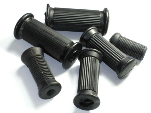NORTON rubbers set 1963-74 twins Atlas Commando footrest rubber kit foot rest
