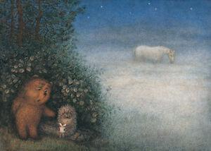 hedgehog in the fog