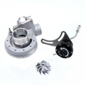 Details about Turbo Upgrade Compressor Kit Mitsubishi TD04 TD04H TD04HL 19T  w/ BOV & 1 2bar WG