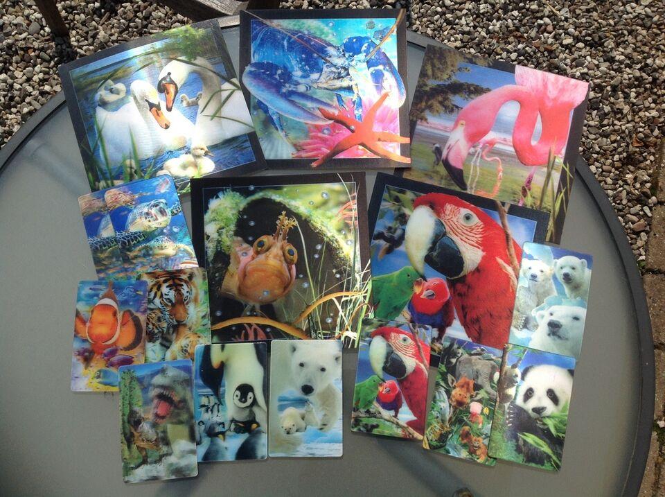 Postkort, Hologram kort 3D