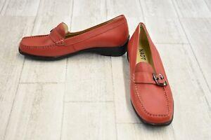 05fe6638e50 Image is loading Naot-Maria-Moc-Toe-Leather-Loafers-Women-039-