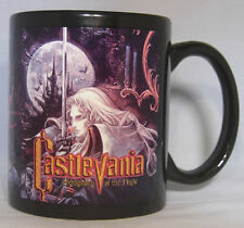 CASTLEVANIA Symphony of the Night SOTN Black - Coffee MUG - CUP