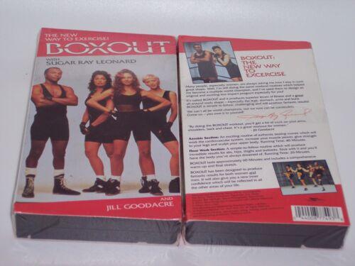 1 of 1 - Boxout [VHS] (1993) Sugar Ray Leonard, Jill Goodacre
