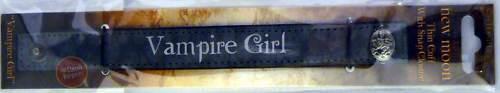 NEW MOON Twilight PLEATHER WRIST CUFF Vampire Girl NEW