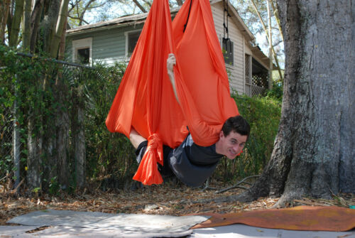 AntiGravity Inversion FUN Unnata Deluxe Flying Yoga Hammock for Aerial Yoga