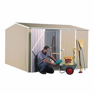 Absco Garden Shed 3mW x 2.26mD - DOUBLE DOOR