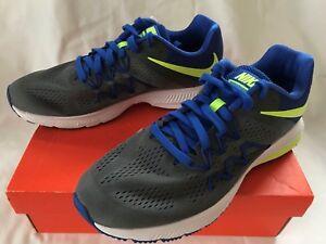 84534ae32c8 Nike Zoom Winflo 3 Grey 831561-005 Responsive Marathon Running Shoes ...
