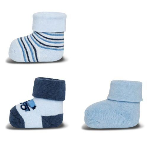 ewers 3er Set Baby-Socken Erstlingssöckchen Betonmischer