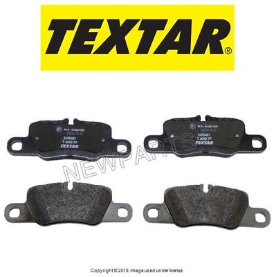 Genuine Porsche Panamera Brake-Rear Pads Set Brake Linings 97035294905