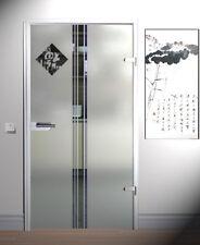 Zimmertür Glastür Ganzglastür Tür Siebdruck 709 x 1972 mm M1709SSR