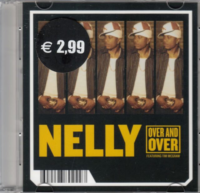 """Nelly Featuring Tim McGraw - Over And Over (3"""") Mini Pock it CD 2005 Hip Hop"""