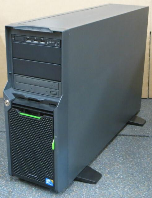Fujitsu Primergy TX300 S5 2x Xeon Quad Core E5540 4GB 2x146GB Tower Server