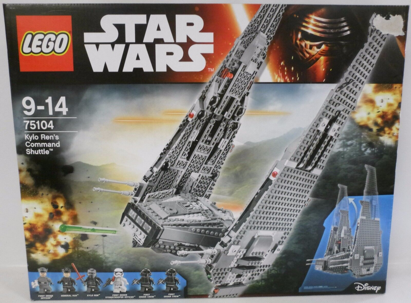 NEU LEGO® Star Wars™ 75104 Kylo Rens Command Shuttle™ OVP