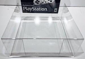 1 Boîte Protecteur Pour Playstation Classic! Clair Affichage Personnalisé Boîtes Neuf-afficher Le Titre D'origine