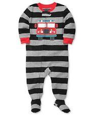 075769d2d49c Carter s Boys Footed Fleece Pajamas Sleeper Fire Truck 4t for sale ...