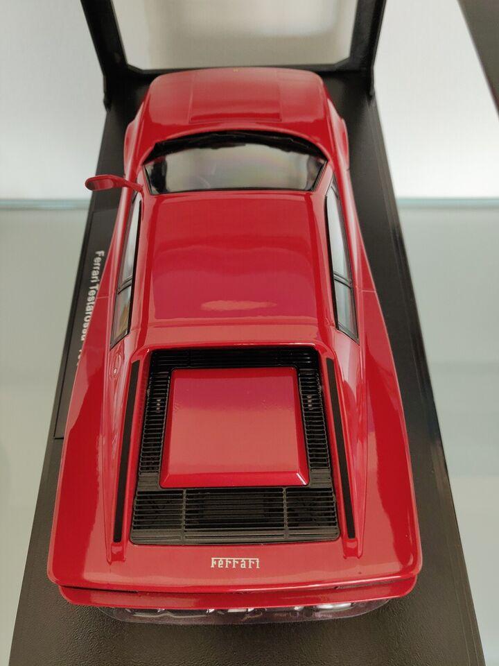 Modelbil, KK-Scale Ferrari Testarossa, skala 1:18