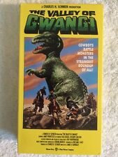 The Valley of Gwangi (Prev. Viewed VHS, 1991) James Franciscus, Gila Golan RARE!