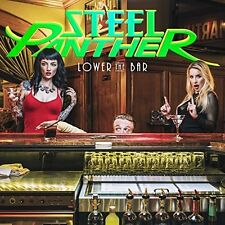 """Steel Panther """"Lower The Bar"""" Del. Ed.CD Album 2 Extra Tracks (Sealed) 3D Sleeve"""
