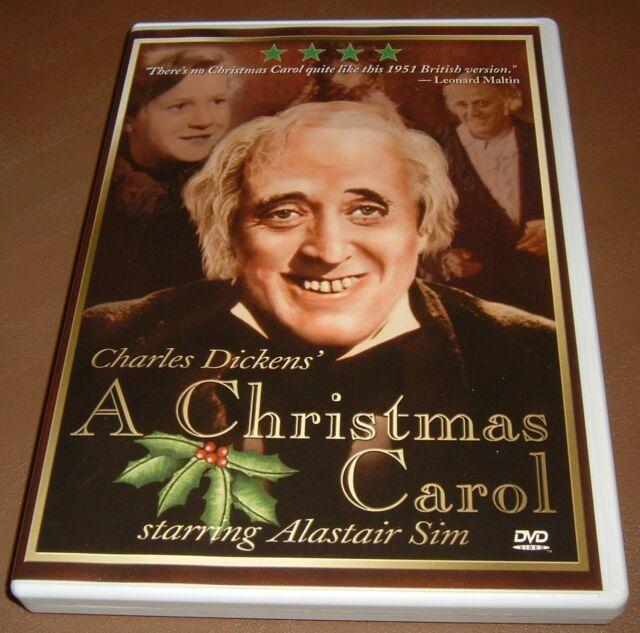 DVD~A Christmas Carol~Alastair Sim~1951~Black & White | eBay