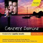 Cantate Domino Knabenchor Capella Vocalis Audio CD