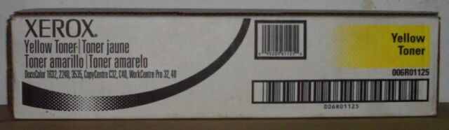 Xerox Toner 006R01125 DocuColor 1632 2240 3535 CopyCentre C32 C40 WC Pro 32 40 B