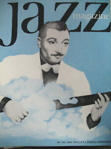JAZZ-MAGAZINE-178-LEGENDE-DJANGO-REINHARDT-GORDON-BECK-BERGAMO-FESTIVAL-1970