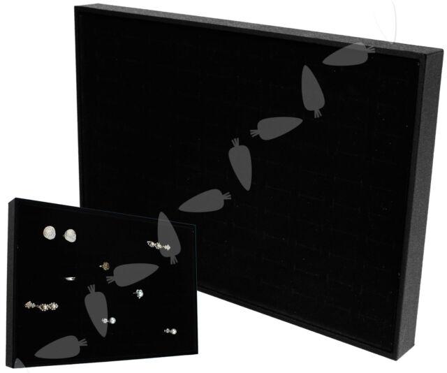Tray Velvet 100 Velvet Ring Jewelry Display Storage Stand Case Holder
