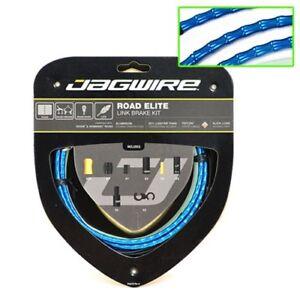 Jagwire-Road-Elite-Link-Teflon-Coated-Brake-Cable-Kit-Blue