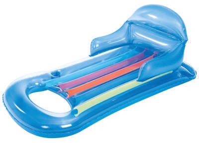 Kinderbadespaß Luftmatratzen Zielsetzung Bestway King Kool Luftmatratze Mit Getränkehalter U Rückenlehne 868649 Blau