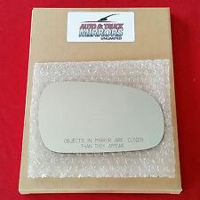 NEW Mirror Glass + ADHESIVE 94-01 INTEGRA 90-93 ACCORD Passenger Right Side RH
