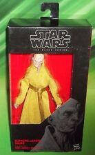 "Star Wars Black Series Last Jedi SUPREME LEADER SNOKE Loose 6/"" Figure Hasbro"