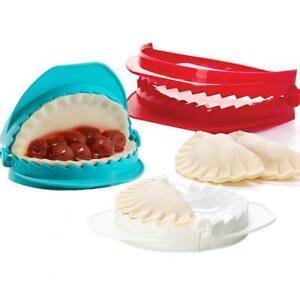3Pcs DIY Dumpling Mold Pastry Pie Maker Cutter Sealer Meat Dough Press Empanada