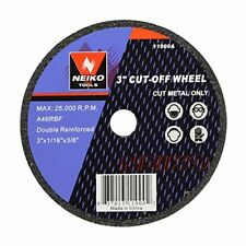 Neiko 3-inch Metal Cut off Wheel for Power Tools Part# 11000A