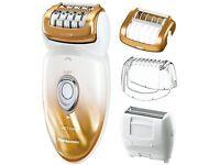 Panasonic Es-ed50-n Multi-functional Wet/dry Shaver And Epilator For Women Wo...