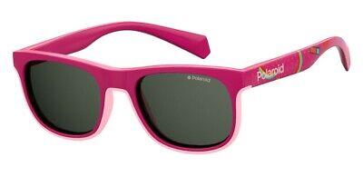 Occhiali Da Sole Sunglasses Polaroid Pld 8035 S Mu1 M9 Fucsia Polarizzato 100%