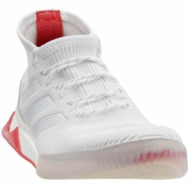 77c2cc1e93 adidas Men 13 US Predator Tango 18.1 TR Boost Soccer Football Indoor White