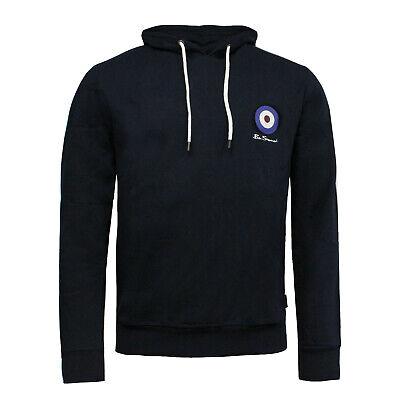 VOI Contrast Panel Zip Jacket Mens Navy Hooded Top Sweater Outerwear