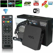 MXQ Amlogic S805 Android 4.4 Quad-Core WiFi 3D 1080P 1G+8G Smart TV Box HDMI USA