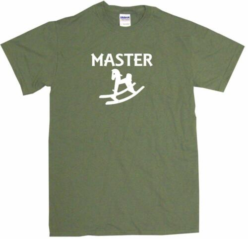 6XL Wooden Rocking Horse Master Mens Tee Shirt Pick Size /& Color Small
