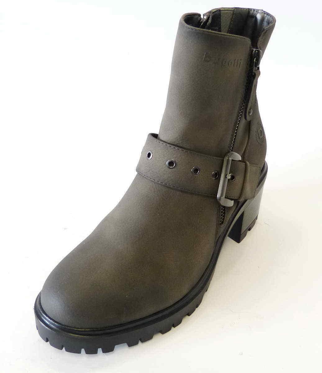 Bugatti Women Boot Clea Grey grau Stiefel Reißverschluß 431576305900 1100
