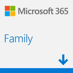 Microsoft M365 FAMILY 1YR ESD