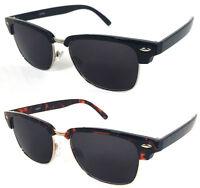 Classic Half Frame Horned Rim Club Man Sun Readers Reading Sunglasses Re51
